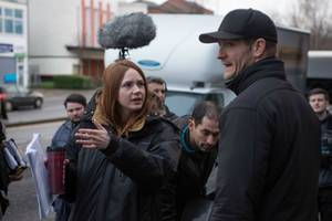 karen gillan's feature film directorial debut begins production