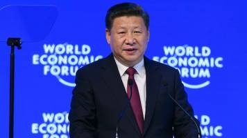 China's Xi tells World Economic Forum there are no winners in trade wars