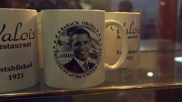 route 45: inside one of obama's favourite diners