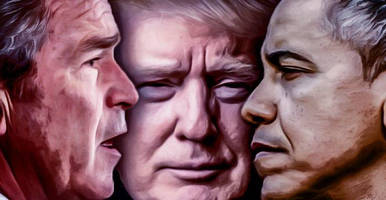 ron paul asks will trump continue the bush-obama 'big spending' legacy?