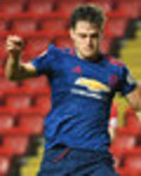 snapped: defender plays for reserves to prove fitness ahead of man utd switch