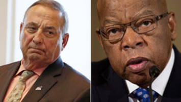 Maine governor to Rep. John Lewis: You need a history lesson