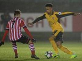 Arsenal new boy Cohen Bramall makes first appearance