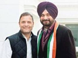 Navjot Singh Sidhu says Congress has always been his party