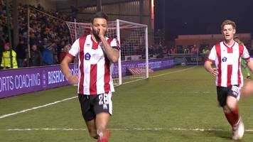 fa cup: nathan arnold goal gives lincoln city incredible win
