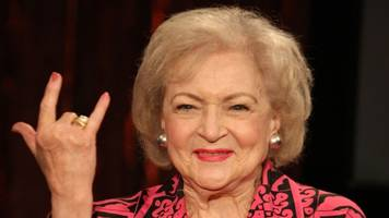 don't panic — betty white is just fine