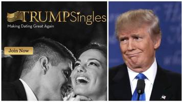 trumpsingles site vows to 'make dating great again'