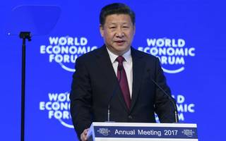 "Xi Jinping in Davos: ""No one will emerge as a winner in a trade war."""