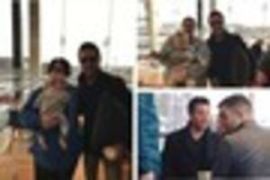 Gino D'Acampo stuns shoppers at Kingswood Retail Park
