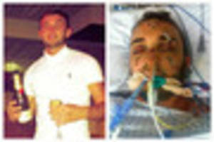 ​'Ultimate lad' paralysed in drink driving horror smash which...