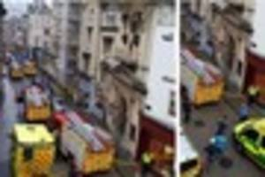 Roads closed in Bristol city centre after reports of a chemical...