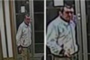 Police hope this man can help them with racist abuse case