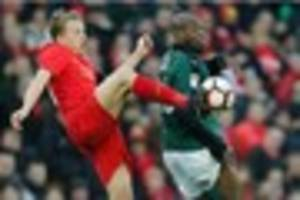 liverpool midfielder a doubt for fa cup clash with plymouth...