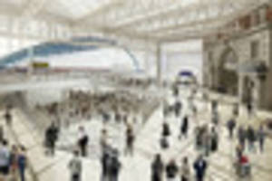 commute to london? timelapse video shows massive overhaul at...