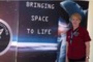 UK Space Ambassador Jo Richardson returns to Burlescombe for...