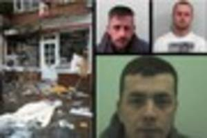 Post Office explosion in Long Ashton: three jailed for theft and...