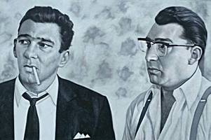 Cambridge artist to hold gangland exhibition featuring the Kray twins