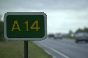 thieves targeting lorries on the a14 near cambridge made a clean getaway