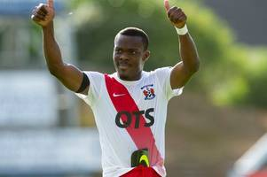 new celtic signing kouassi eboue will be a star in scotland says kilmarnock forward souleymane coulibaly