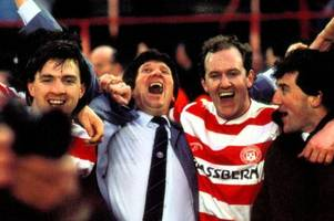 rangers were put to the scottish cup sword by hamilton accies boosted by p***-ups, poker and pigeons