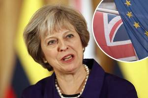 theresa may set to finally outline brexit plans in speech - watch live