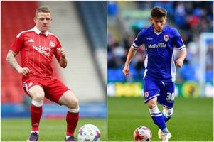 Cardiff City to offer former Everton man Matthew Kennedy plus cash for Aberdeen winger Jonny Hayes - reports