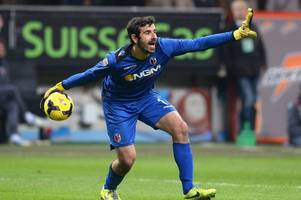 Italian goalkeeper Gianluca Curci on trial at Cardiff City from Bundesliga side Mainz 05