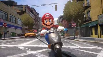 super mario odyssey in grand theft auto is unholy, amazing