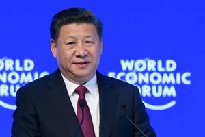 Xi Jinping Defends China's Golden Goose in Davos