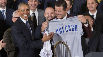 president obama asked speechwriter for no white sox jokes in cubs white house speech