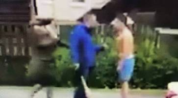 Man issues apology over west Belfast street brawl