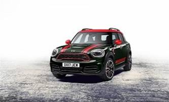 MINI Unveils 2017 John Cooper Works Countryman, It's The Most Powerful MINI