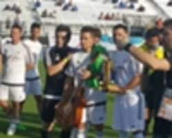 florida cup: caio junior's sons thankful for tribute