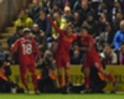 plymouth 0-1 liverpool (agg 0-1): leiva leaps to reds' rescue