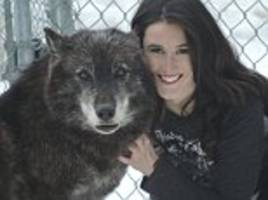rape survivor claims working with wolfs cured her fear