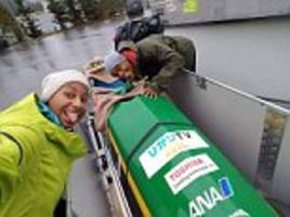 jamaican bobsled team ask for donations to hire a coach