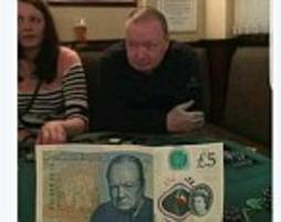 man photographed looking like winston churchill off new £5