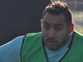 Dimitri Payet trains with West Ham Under 23s