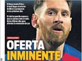 Lionel Messi awaiting 'imminent' Barcelona contract offer