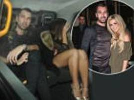 Nicola McLean's husband Tom Williams seen with mystery gir