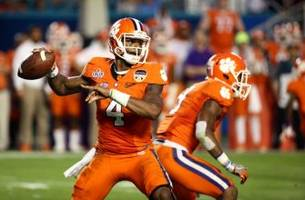 deshaun watson should be a first round pick in the 2017 nfl draft.