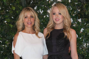 Marla Maples, Tiffany Trump Want Free Hair and Makeup for Inauguration