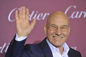 for his next role, sir patrick stewart will be playing poop