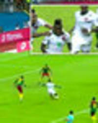 Guinea-Bissauan winger sprints length of the pitch to bag stunner against Cameroon