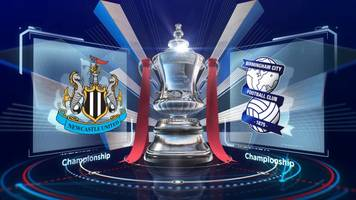 fa cup: newcastle united 3-1 birmingham city highlights