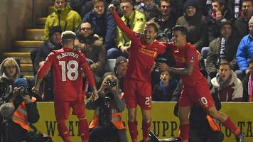 fa cup: plymouth argyle 0-1 liverpool highlights