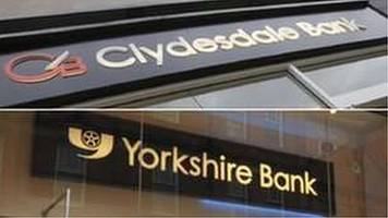 Clydesdale and Yorkshire Bank to close dozens of branches