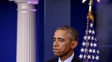 President Obama's Last Press Conference Was Fully Of Worry