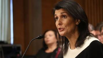 trump's pick for un ambassador takes a tougher stance on russia