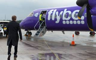 flybe extends cardiff to london city route